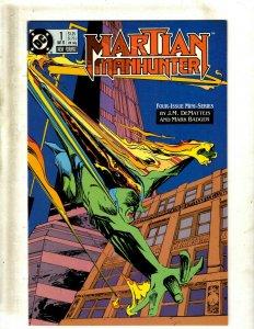 12 Comics Martian Manhunter 1 2 3 4 Hawk & Dove 1 2 3 4 5 Chiaroscuro 1 2 3 SB2