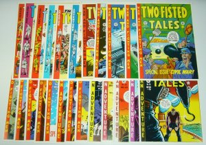 Two-Fisted Tales Portfolio - ec comics - kurtzman - wally wood - severin - davis