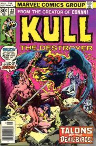 Kull the Conqueror (1971 series) #22, VF- (Stock photo)