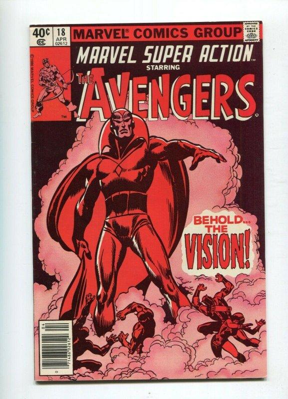 Marvel Super Action 18 VF/NM Reprint Avengers 57 1st App. Vision.