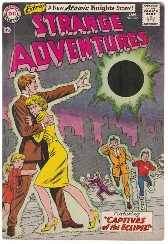 Strange Adventures #160 (Jan-64) VF- High-Grade Atomic Knights