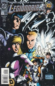 Legionnaries #0 DC 1994 1st appearance XS Nora Allen Barry Grand Daughter CW TV