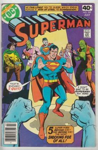 Superman #337 (Jul-79) VF High-Grade Superman