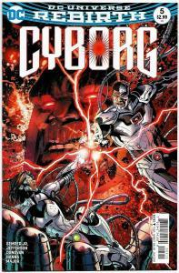 Cyborg #5 Rebirth Main Cvr (DC, 2016) NM
