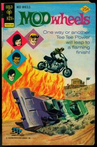 Mod Wheels #16 1975- Gold Key comics- Motorcycle cover VG