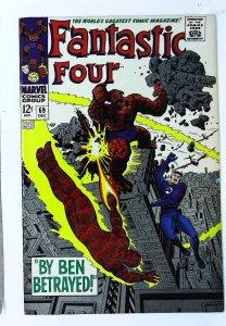 Fantastic Four (1961 series) #69, Fine+ (Actual scan)