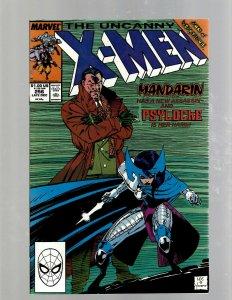 Uncanny X-Men # 256 NM Marvel Comic Book Beast Angel Cyclops Magneto SM19