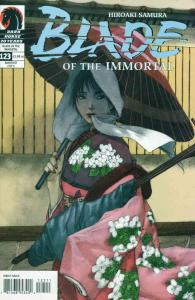 Blade of the Immortal #123 VF/NM; Dark Horse | save on shipping - details inside