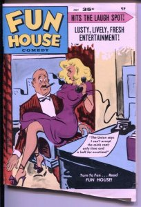 Fun House  7/1970-Timely-Bill Ward-spicy cheesecake pix-G