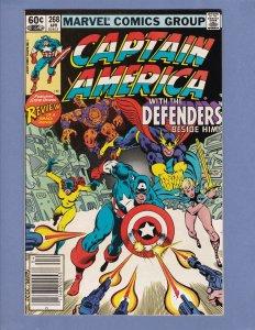 Captain America #231 #242 #247 #257 #258 #260-264 #267-271 #273 #274 #283