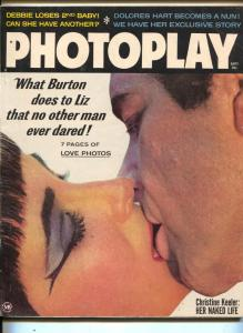 Photoplay-Liz Taylor-Richard Burton-Marilyn Monroe-James Dean-Sept-1963