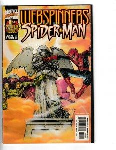 WEBSPINNERS TALES OF SPIDERMAN #1,2 SUNBURST VARIANT!!! VF/NM