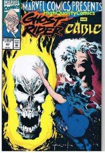 MARVEL COMICS PRESENTS #97, NM, Sam Kieth, Ghost Rider, more MCP in store