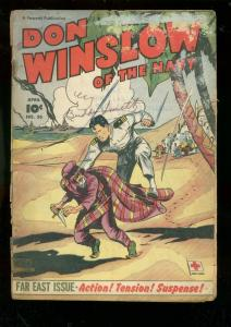 DON WINSLOW OF THE NAVY #56 1958-FAWCETT-FAR EAST ISSUE FR