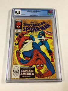 Spectacular Spider-man 138 Cgc 9.8 White Pages Marvel