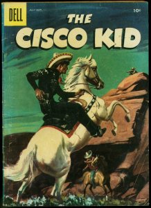 The Cisco Kid #32 1956- Dell Western comic- Painted cover VG