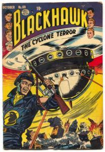 Blackhawk Comics #69 1953- Cyclone Terror VG