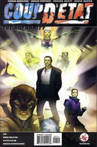 Coup D'Etat: The Authority #1A VF/NM; WildStorm   save on shipping - details ins