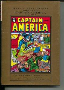 Marvel Masterworks Golden Age Captain America-Vol 3-2009-HC-VG/FN