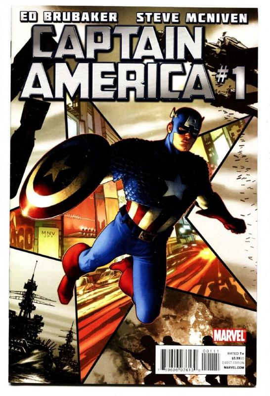 Captain America #1 2011- Marvel - Comic Book - NM-