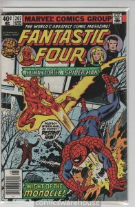 FANTASTIC FOUR (1961 MARVEL) #207 VG+ A32907