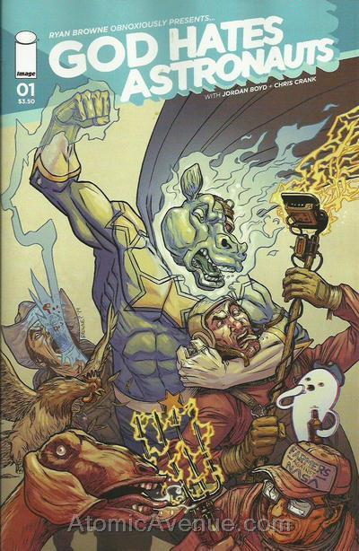 God Hates Astronauts (2nd Series) #1A VF/NM; Image | save on shipping - details