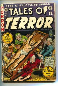 Tales of Terror Annual #3 1953 Rare EC-TORTURE cover-Horror