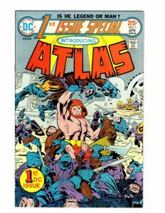 FIRST ISSUE SPECIAL 1 FINE ATLAS BY KIRBY