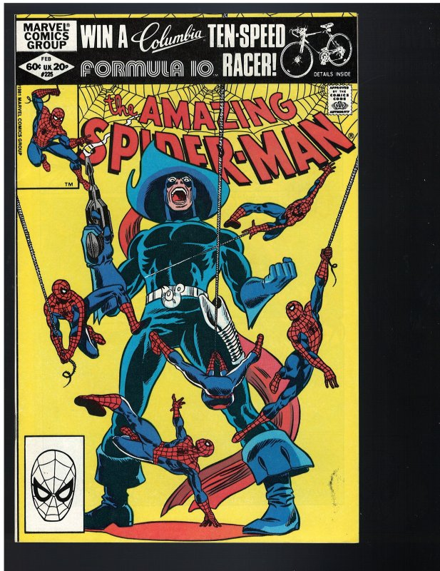 Amazing Spider-Man #225 (Marvel, 1982)