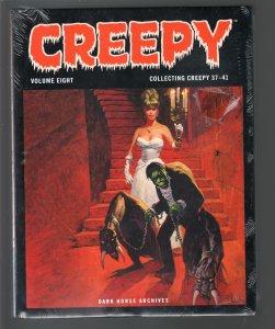 Creepy-Vol. 8-#37-41-Nicola Cuti-Phil Seuling-Sealed-Hardcover-2010