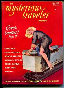 Mysterious Traveler #4 6/192-Norman Saunders cover-violent pulp thrills-VF