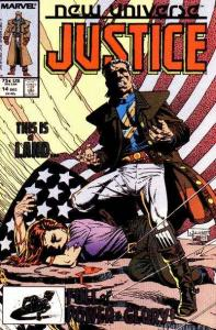 Justice (1986 series) #14, NM- (Stock photo)