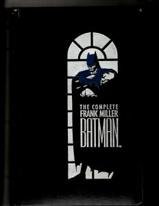 The Complete Frank Miller Batman DC Comics Graphic Novel Hardcover 1st Print SM8