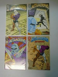 Metamorpho set #1-4 8.0 VF (1993 2nd Series)