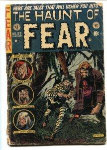 Haunt of Fear #23  EC Pre-code 1954 Horror Comics-Jack Davis- FR/G
