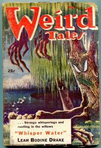 Weird Tales Pulp May 1953- Whisper Water- Leah Bodine Drake FAIR