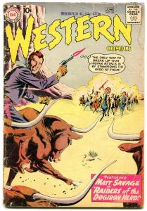 Western Comics #81 1960- Matt Savage- Pow Wow Smith G