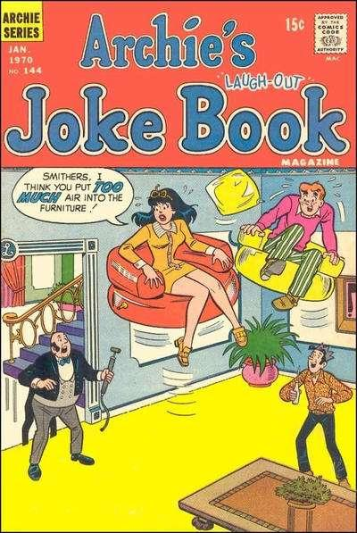 Archie's Joke Book Magazine #144, Fine (Stock photo)