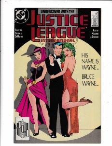JUSTICE LEAGUE INTERNATIONAL#16 NM/VF  DC COMICS.