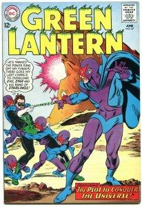 GREEN LANTERN #37 1965 DC COMICS FIRST EVIL STAR - KANE VF