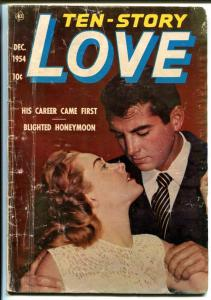 Ten-Story Love Vol. 35 #1 1954-Ace-former pulp-spicy romance-photo cover-FR/G