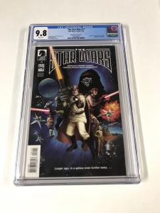 The Star Wars 1 Cgc 9.8 White Pages Wheatley Variant Cover Dark Horse