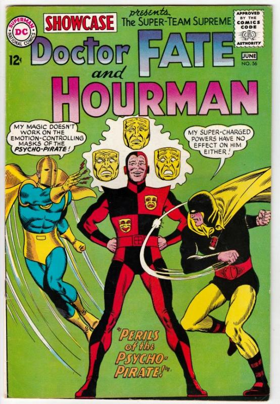 Showcase #56 (Jun-65) VF/NM High-Grade Hourman, Doctor Fate