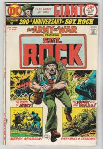 Our Army at War #280 (May-75) FN- Mid-Grade Easy Company, Sgt. Rock