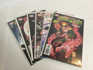 Iron Fist Breathless 1-6 Lot Set Run Nm Near Mint Marvel Comics A39