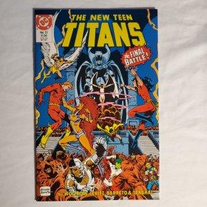 New Teen Titans 31 Very Fine-