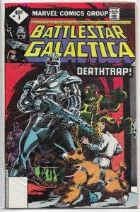 Battlestar Galactica   (Marvel)   # 3 GD