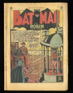 Detective Comics (1937) #163 Coverless Complete!