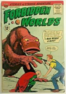 FORBIDDEN WORLDS#121 FN 1964 ACG SILVER AGE COMICS