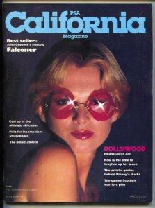 California Magazine November 1977- CARL BARKS- Falconer Cheever